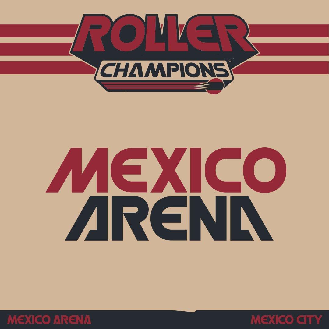 Fun fact! Para la arena de México en #RollerChampions , nos inspiramos en estadio Monterrey.  También queríamos destacar un monumento icónico de México, el Ángel de la Independencia.