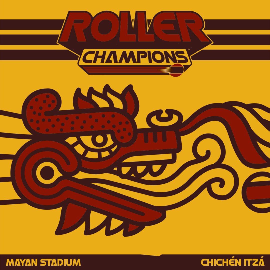 ¿Sabías que el dragón del Chichén Itzá no es realmente un dragón? Se trata de Kukulkan, el dios de la resurrección.    En el estadio maya, es él quien activa el portal que te permite marcar goles.