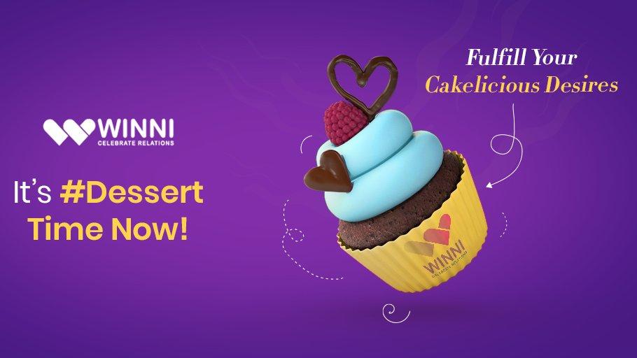 Desserts to bring a bit of joy while staying home! #StayHomeStaySafe : #Winni #cupcake #winnigifts #sweets #cake #cakes #desserts #lovebite #StayAtHome #StayAwareStaySafe #StayHome #StaySafepic.twitter.com/mvekD88Ewy