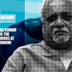 Image for the Tweet beginning: Shreyams Kumar Handling the Coronvirus