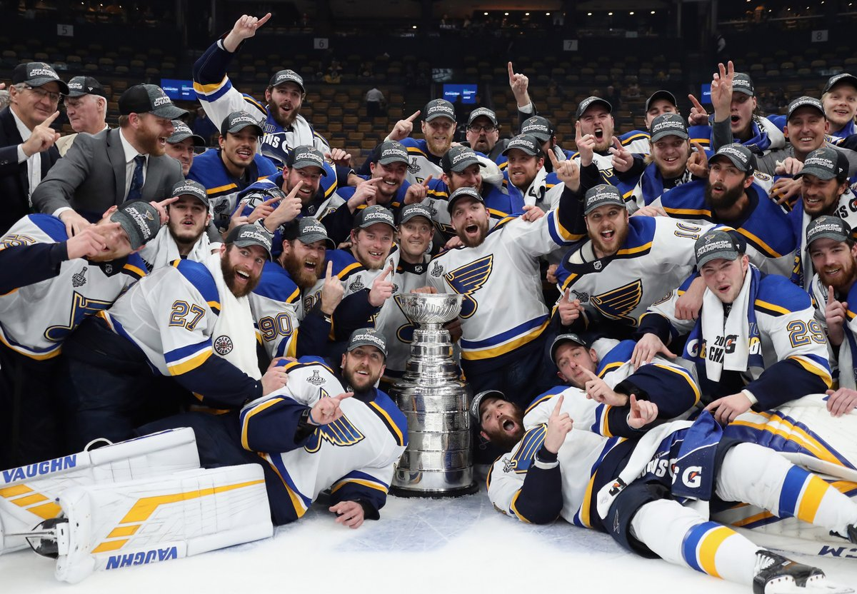 St. Louis Blues @StLouisBlues