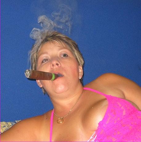 Old Mature Couple Smoking