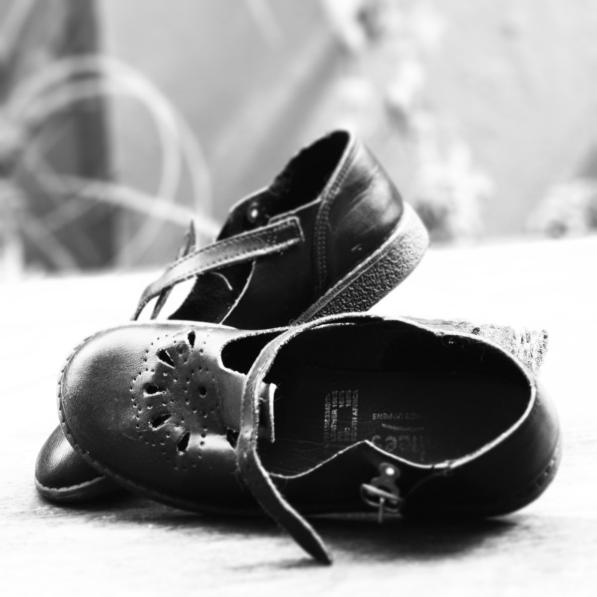 #LockDownSADay1Challenge 'Hoping-to-go-back-to-school-soon' at home shoes...