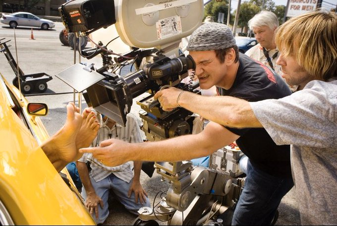 Happy birthday Quentin Tarantino. Gracias, maestro.