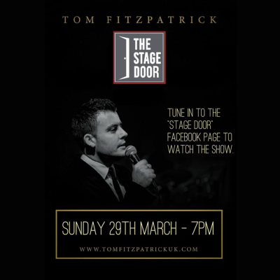 29/03/2020 - Tom Fitzpatrick at The Stage Door Eastbourne (LIVE STREAM)  https://j.mp/2QPtUIK    #EBevents  #LiveStream  #BestOfEastbourne