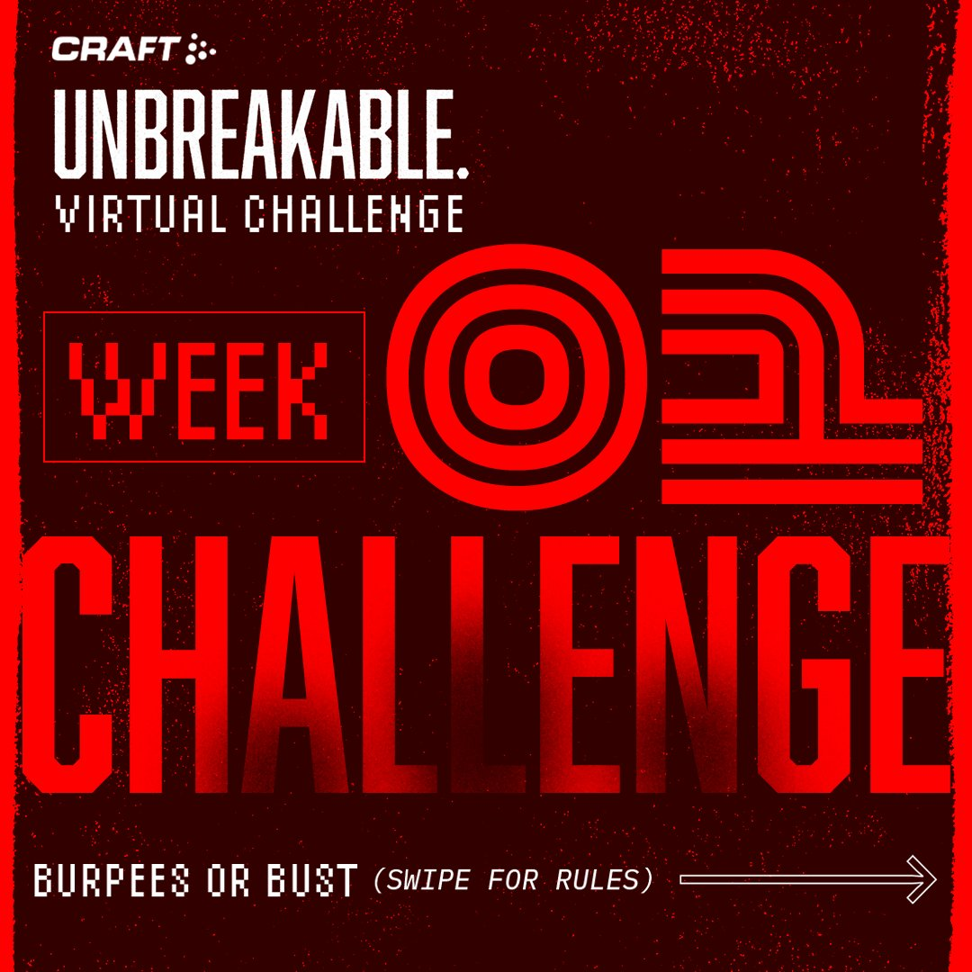Introducing: The Spartan Unbreakable Challenge powered by @craftsportswear.  A virtual competition for runners, gym junkies, kids, weekend warriors, pros, and everyone else who wants to be part of the global movement to #BeUnbreakable.  More info at http://sprtn.im/ubchallenge.pic.twitter.com/6dc41t1IUo