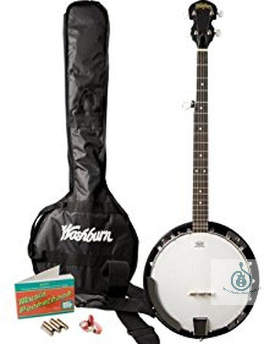 Washburn B8K Banjo Pack w/Gig Bag . . Start Pickin' http://bit.ly/WB8K1 . . #CyberMonday #CyberMonday2019 #CyberMondayAmazon #banjo #bluegrass  #countrycurrent  #fiddle  #mandolin #celticgrass #irishmusic #bluegrassunderground #Americana #CyberMondayDeals #HappyMondaypic.twitter.com/70euDpFbng