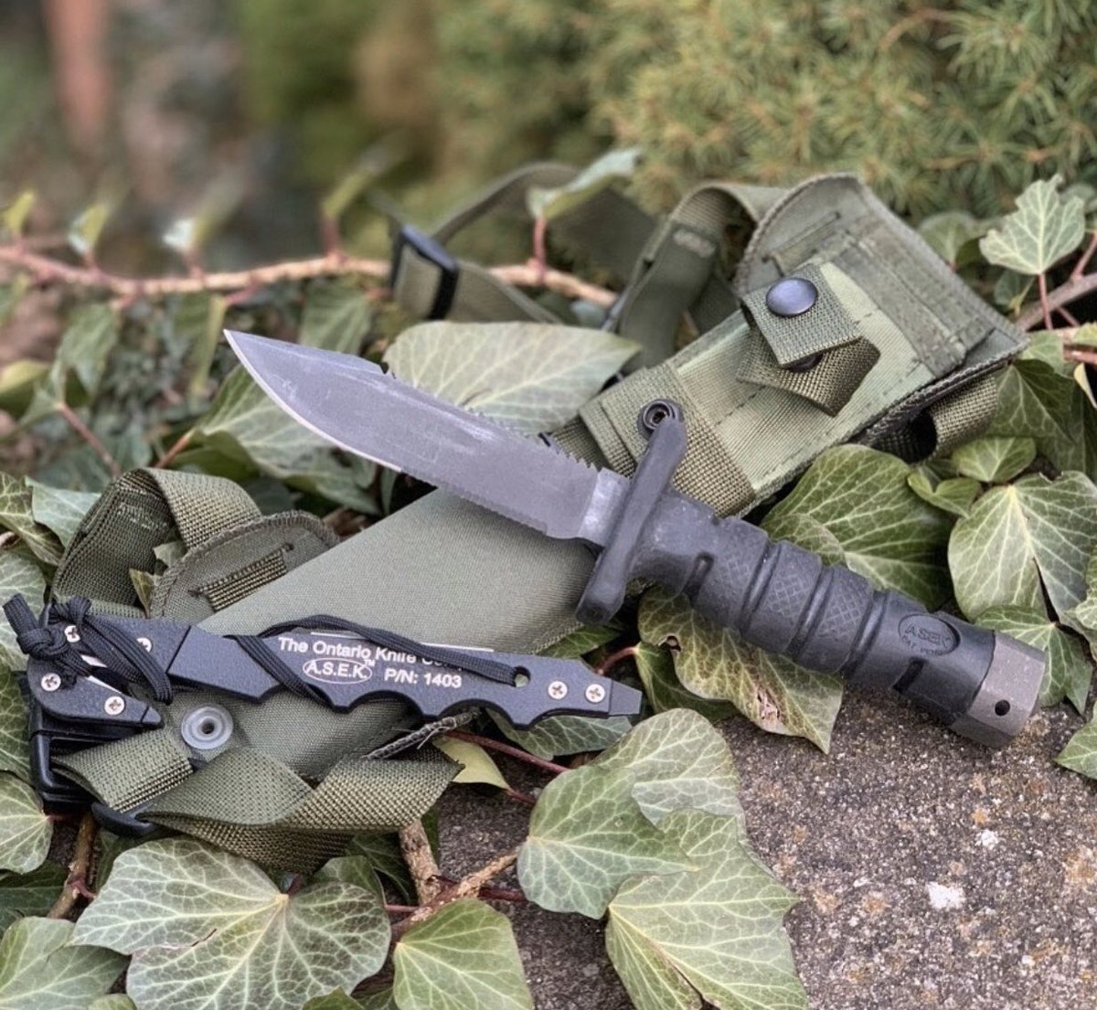 #ontarioknifecompany #ontarioknife #ontarioknives #ontarioknifeco #OKC1889 #MadeinUSA #knife #blade #fixedblade #military #strapcutter #ASEKsurvivalsystem #ASEK #hunting #camping #hiking #outdoors #tactical #bushcraft #rescue #tools #edc #adventureculture #wildernessculture pic.twitter.com/Pm7K34Gqnm