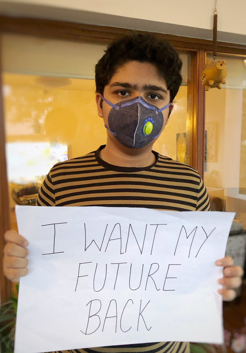 My home Delhi is 1 of the most polluted cities in the world. For me,climate change isnt a situation,but a reality And Climate Action isnt a priveleged option, but a necessity for survival! Stand with the Global South, & take #climateaction now! @GretaThunberg #digitalstrike
