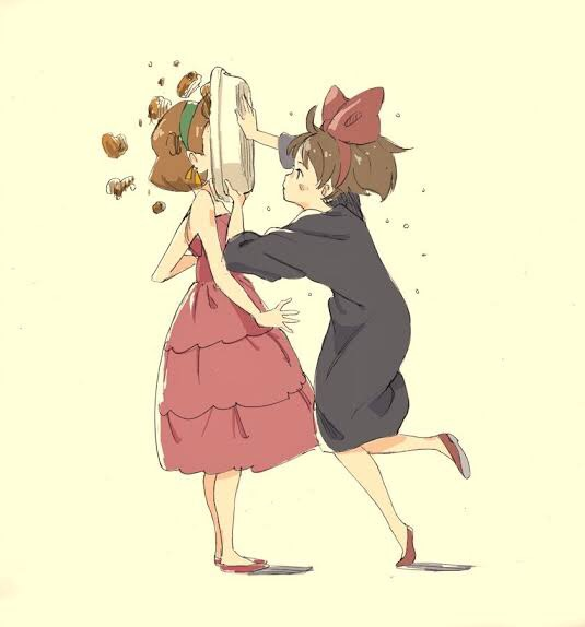 「アタシこのパイ嫌いなのよね」「…」【 天   誅 】#魔女の宅急便#金曜ロードSHOW