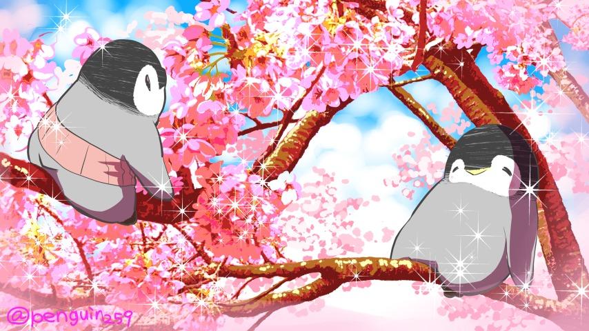 3月27日は #さくらの日 ♪桜の木の上でオヤスイミン♪