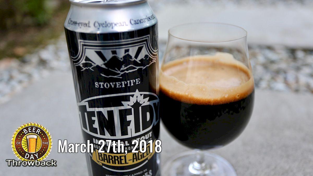 Beer of the Past for Mar 27th, 2018: Ten Fidy (Barrel-Aged) from Oskar Blues Brewery (http://botd.us/zk1NDh) in Longmont, CO. #ilovebeer #beersnob #drinklocal #beergeek #craftbeer #beer #beertography #lovebeer @oskarbluespic.twitter.com/JxqjbhH9V7
