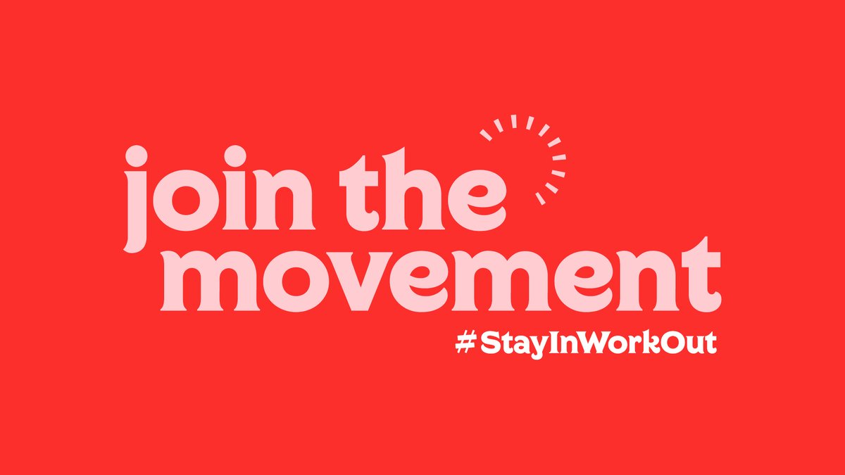 Have you checked out @Sport_England's Join the Movement campaign yet? Discover lots of ways to move and stay active in and around your home by following @StayInWorkOut or visiting:  #StayInWorkOut