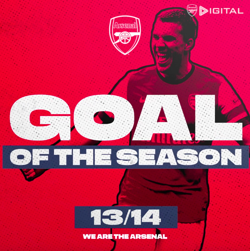 📺 Goal of the Season - 2013/14 📺 😎 Surely there can be no complaints about our #1 pick this time...