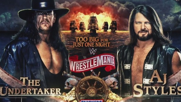 AJ Styles Reveals Details On The Boneyard Match With The Undertaker At WrestleMania 36