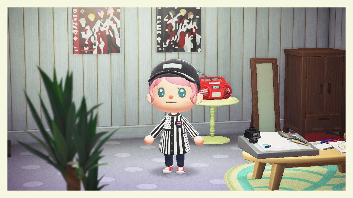 ピエコロの里津花さん衣装を作ってみた #どうぶつの森