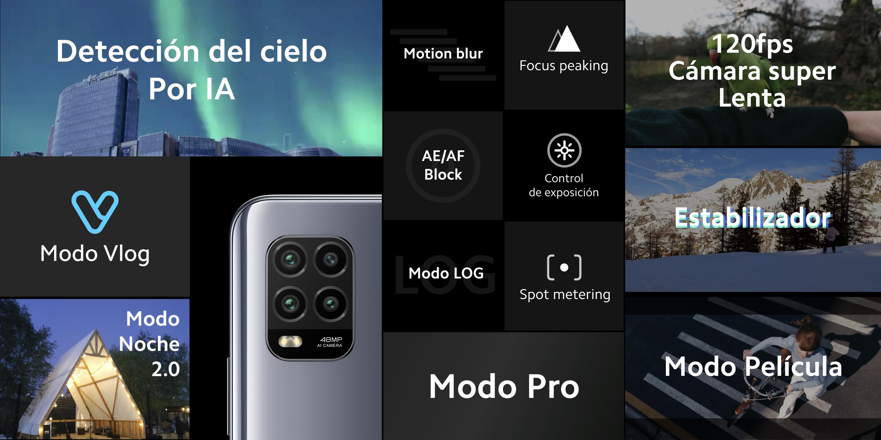 Especificaciones Xiaomi Mi 10 Lite 5G