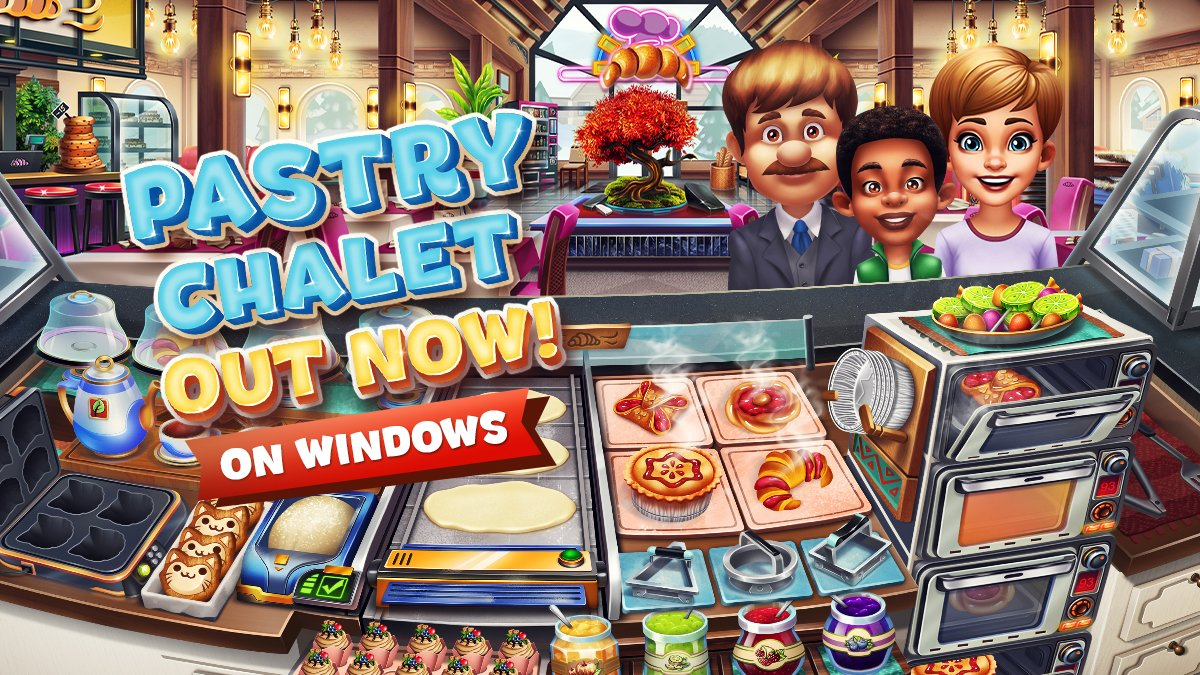 Pastry Chalet is now available for Windows on Microsoft Store!  Download here: https://t.co/J9VlQlDoWa https://t.co/qRUwahnmga
