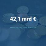 Image for the Tweet beginning: 42,1 mrd €. Sen verran