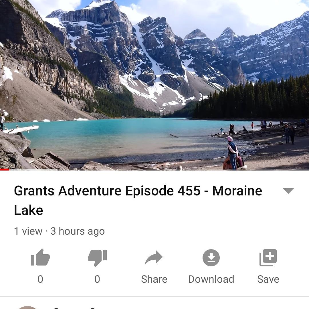 https://youtu.be/IsenLgPYaKo New Adventure #Adventure #Exploring #Hiking #Hike #Nature #Wilderness #MoraineLake #Mountains #Alberta #Lake #Beautiful #Amazing #Canada #Canadian #Alphamale #Silverback #GranchDressing #GrantStys #YouTube http://www.grantstys.compic.twitter.com/ferL58BjEl