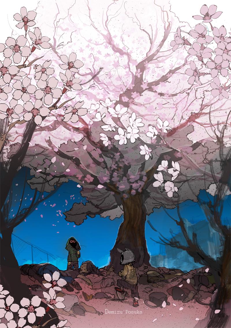 桜の木の噂を知ってる?噂が真実を作るんだ