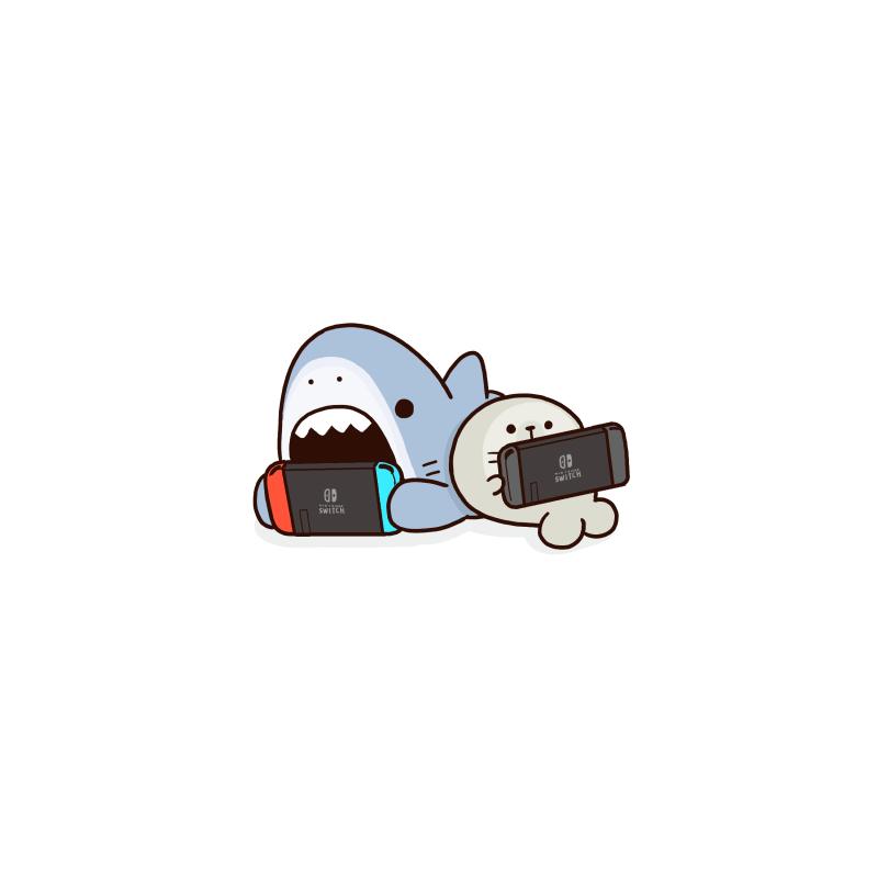 外出を控えるサメ #サメーズ