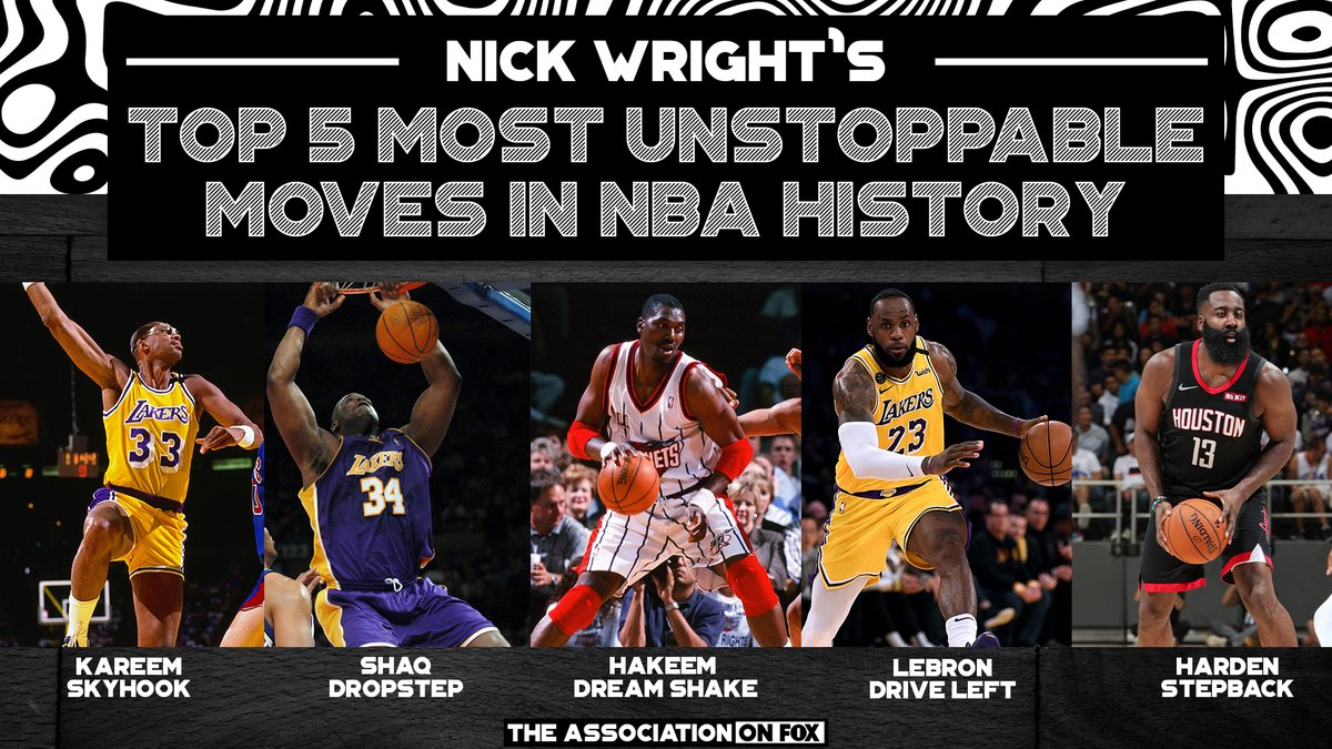 👀 @getnickwright lists his top 5 unstoppable moves in NBA history. What moves make your list?