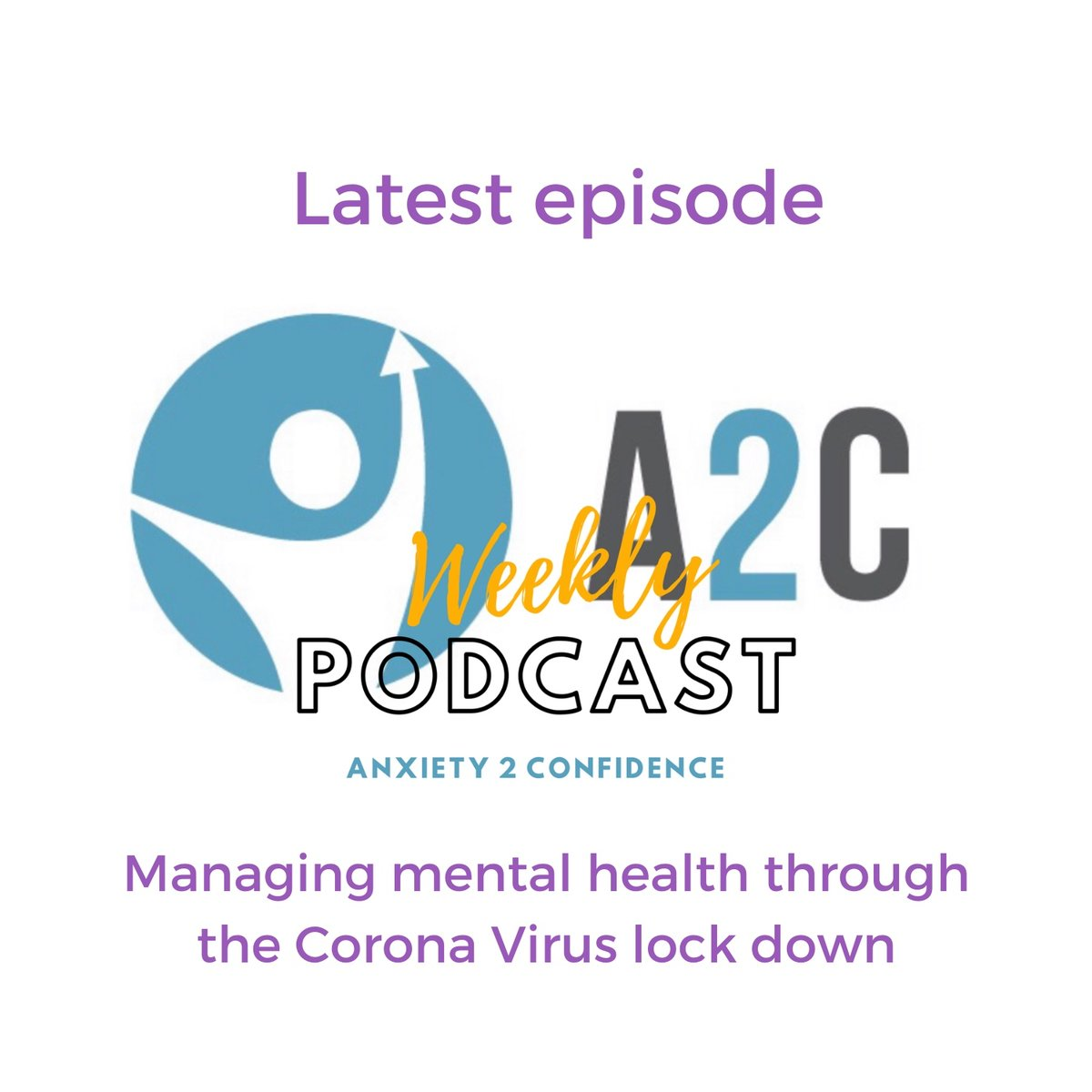 Latest podcast episode is now available on iTunes, Spotify and Podbean.   This week I am giving you practical tips to look after your mental health during the Corona Virus lockdown here in the UK.   https://www.anxiety2confidence.com/blog/mentalhealthcoronavirus…  #mentalhealthsupport  #healthymind #podcastpic.twitter.com/CWehokOy53