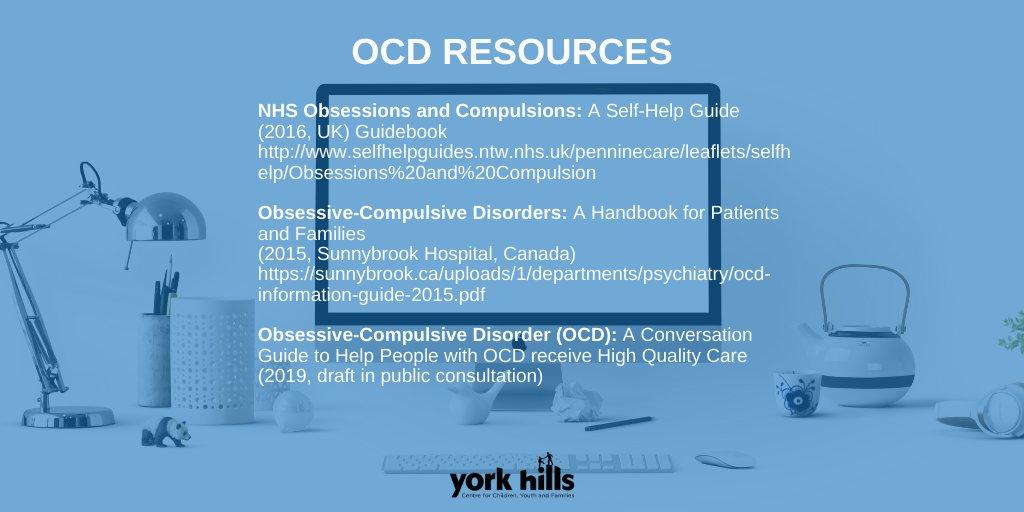 Resources for caregivers of children with OCD! #yorkhills #hereforyou #childrensmentalhealth #kidscantwait #family #mentalhealthsupport #itsokaynottobeokay #hereforyou #parenting #yorkregionpic.twitter.com/1vFvsHXz4c