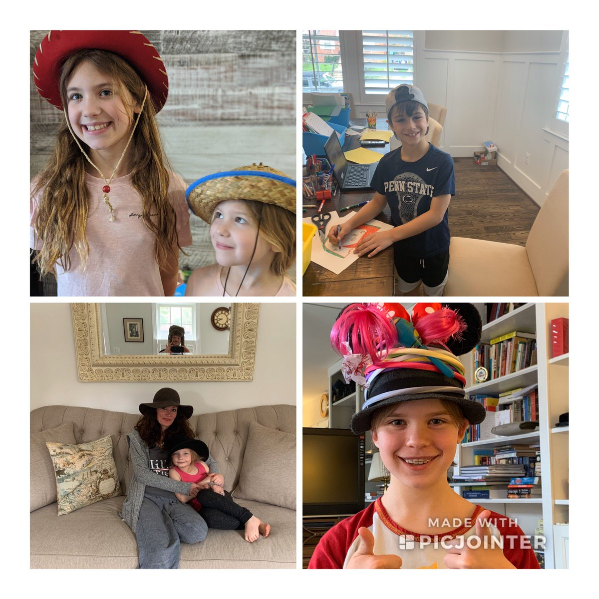 Virtual Hat day at Glebe with Glebers and folks from APS Central Office! Thank you all for joining our spirit!<a target='_blank' href='http://twitter.com/glebepta'>@glebepta</a> <a target='_blank' href='http://twitter.com/APSVirginia'>@APSVirginia</a> <a target='_blank' href='http://search.twitter.com/search?q=GlebeEagles'><a target='_blank' href='https://twitter.com/hashtag/GlebeEagles?src=hash'>#GlebeEagles</a></a> Follow along it will be many tweets! <a target='_blank' href='https://t.co/W250NrGbCV'>https://t.co/W250NrGbCV</a>