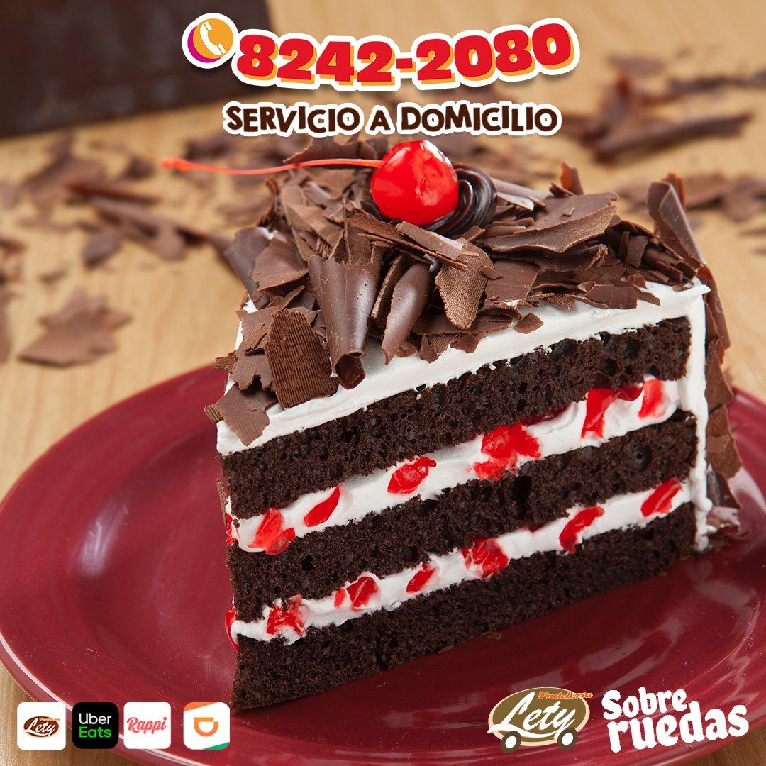 Te llevamos tu pastel favorito🥰 hasta la puerta🚪 de tu casa ☎Teléfono: 8242 2080.¡ ⚡¡ENVIO GRATIS!⚡#QuedateEnCasa 🏠 #PasteleriaLety💗 #DateUnGusto ✨  *Consulta restricciones y Zonas de Reparto.