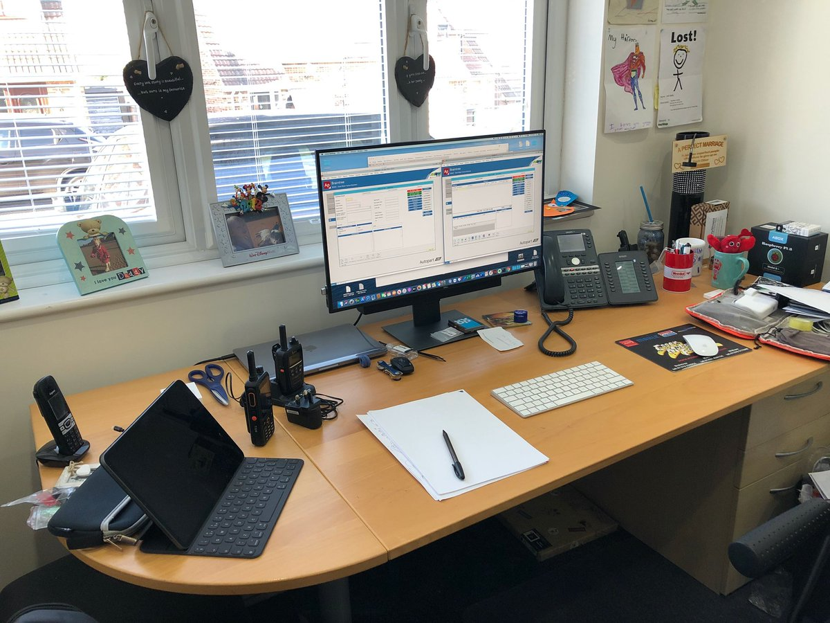 Thanks to @mattlittle79 for sending in his work from home setup. Let's have some fun, please send us your home working setup #WFH #hostedpbx #homeworking #hashkeypic.twitter.com/mifWrwtzAE