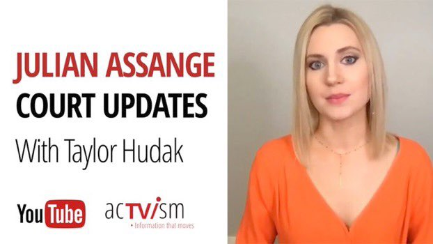 Check out my report on Assange's recent bail hearing, #coronavirus spreading in UK prisons  WATCH:  https:// youtu.be/mf22tLzBkvk    <br>http://pic.twitter.com/8uj4rKOAIe