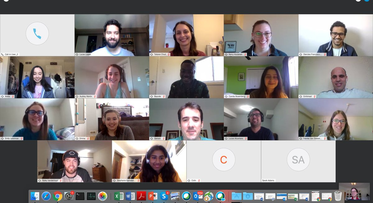 This, my friends, is the future of #AnimalBreeding. So proud of my hard working and motivated students who are working diligently despite #COVID19.  And yes, they all have TP... @ABSc_UofG @DairyatGuelph @BetterBreeding @CgilUofG @Lactanet_Canada @ontariogenomics @GenomeCanada https://t.co/h5M9qhdkww