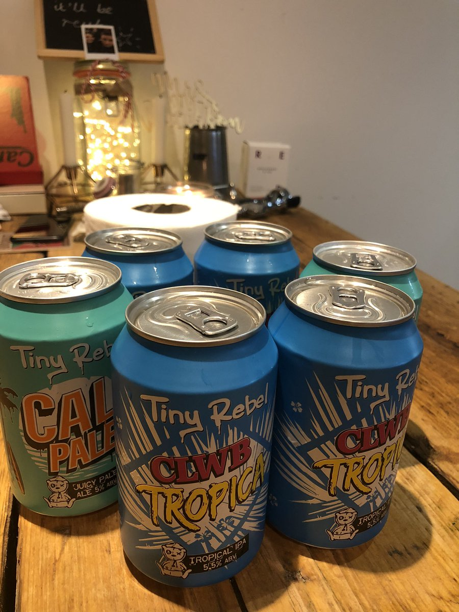 Thank you @TheAngelBowE3 for the re-stock of @tinyrebelbrewco! Thanks for the bonus loo roll in the background #StayAtHome #angelathome #shoplocal #beertography pic.twitter.com/yO67WnA5uB – at Angel Of Bow
