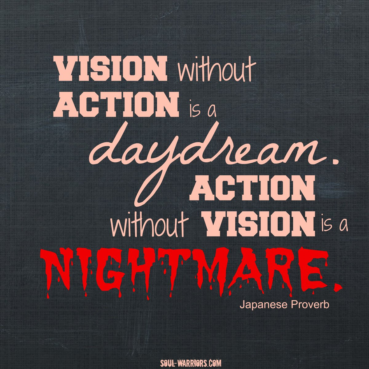#Vision and #Action are both extremely important factors for growth and success. #biztipspic.twitter.com/UoUHhFVqPv