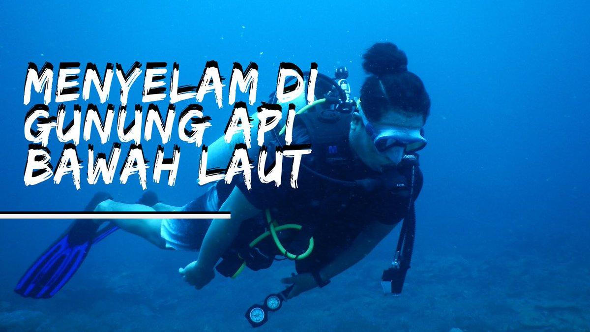 We dive underneath the volcano in Maluku http://bit.ly/tanjungbongo #travelvideo #rajaampat pic.twitter.com/w3k1O91onz