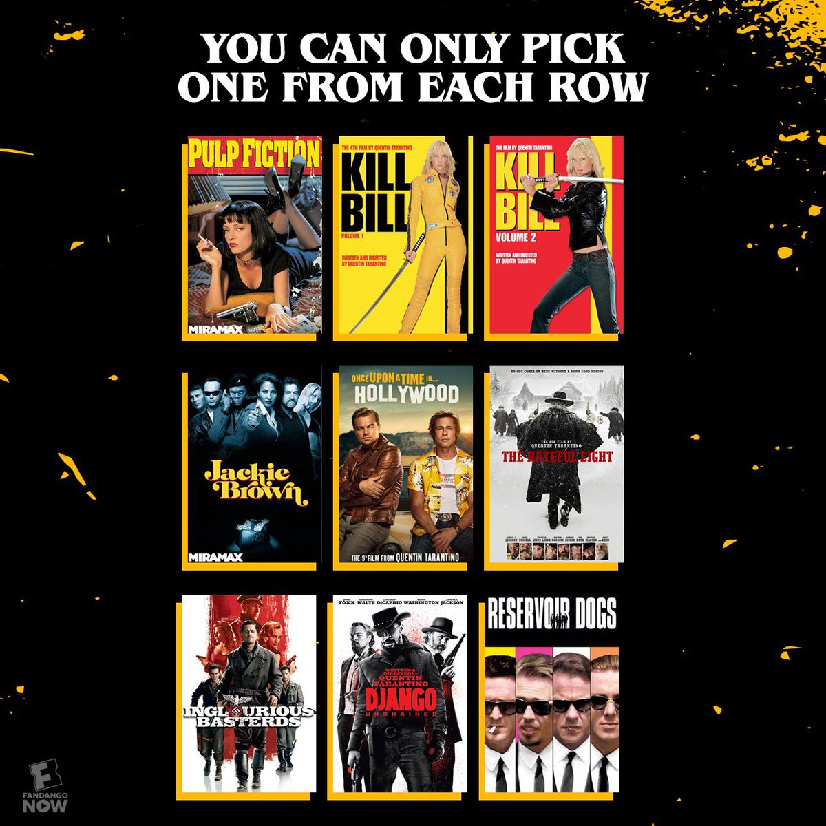 How does Tarantino stack up for you? <br>http://pic.twitter.com/0HvTWxN3ZO