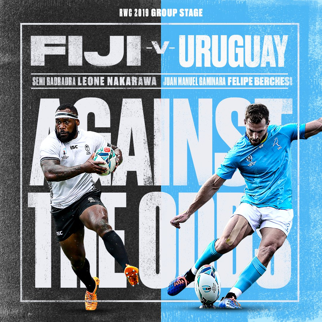 test Twitter Media - Against all odds 🎲  🗓 29/03/20 🕓 16:00 BST 📺 Rugby World Cup Facebook /  World Rugby YouTube   See you on Sunday for Fiji vs Uruguay? https://t.co/AsbynTzGxb