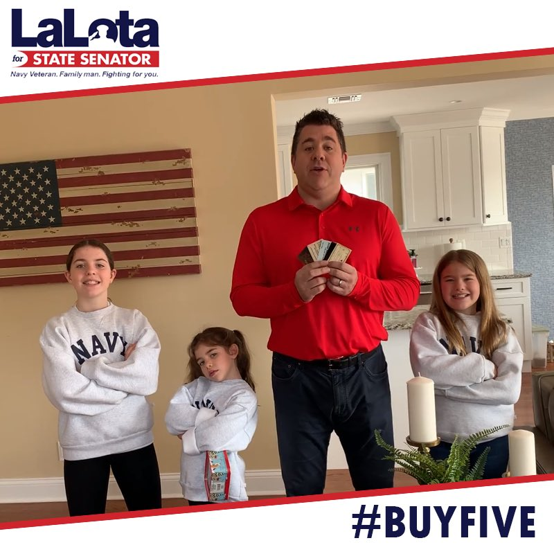 During Coronavirus, don't High Five. If you can afford it, #BuyFive gift cards to your local bars, restaurants & small businesses. It's like giving a short-term loan so they can survive the economic effects of Coronavirus. We're in this together!  #SD8 https://www.youtube.com/watch?v=QnyHWuUltak…pic.twitter.com/9yl84HJldl