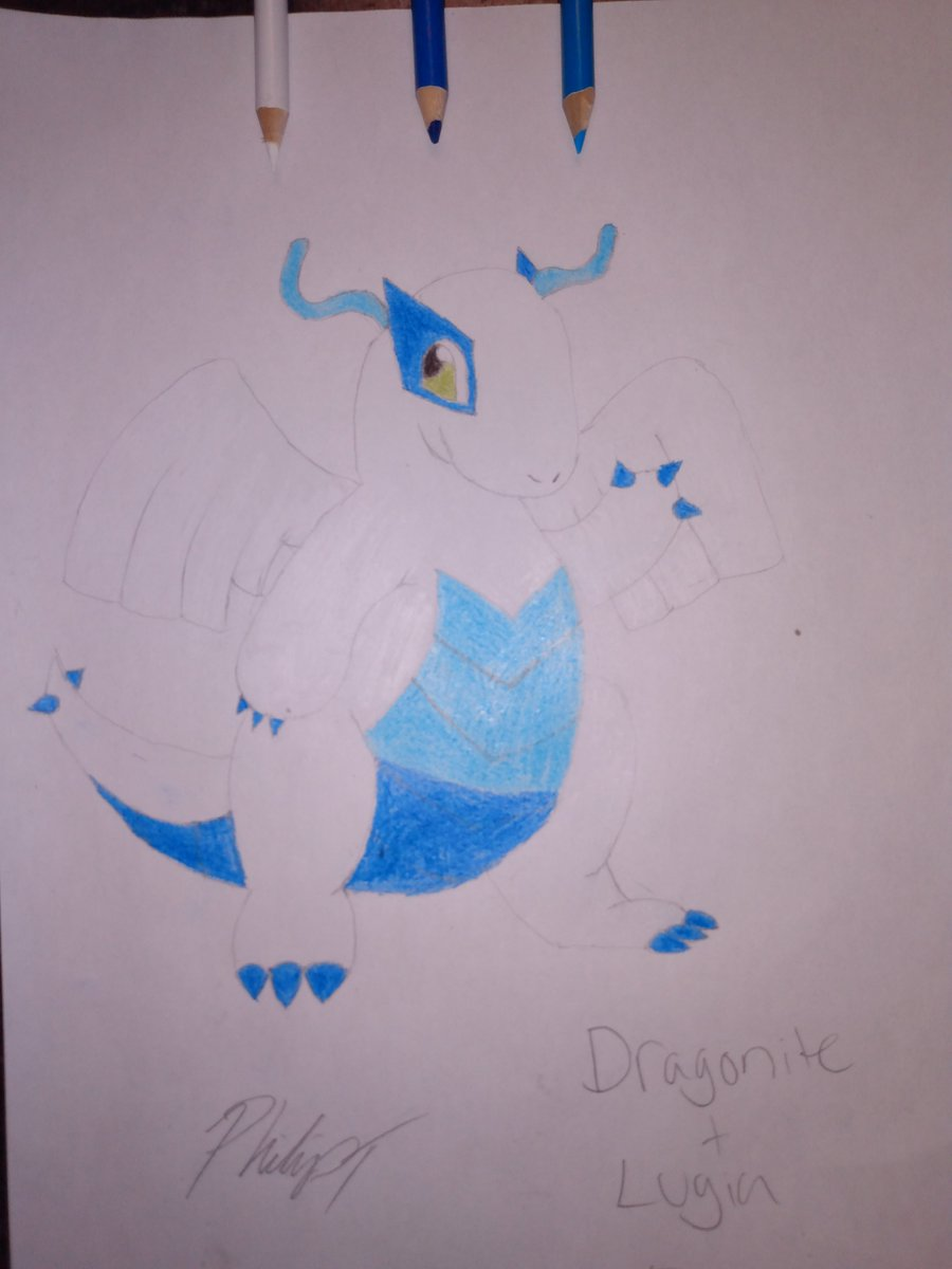 First time ever drawing Dragonite but fusing it with Lugia making Lugianite!  #90sKid  #Draw #Arts #Cartoons #Anime #Pokemon #PencilSketch  #PokemonTrainer #ChibiArt #ArtFusion  #Manga  #Artist #PokemonDrawing #PokemonArt  #Fusing #Dragonite #Lugia  #FirstTimepic.twitter.com/fG8dLM2tl3