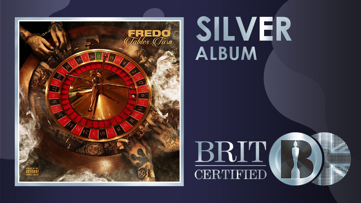 @fredo's album 'Tables Turn' is now #BRITcertified Silver! <br>http://pic.twitter.com/DfcQIPGuat
