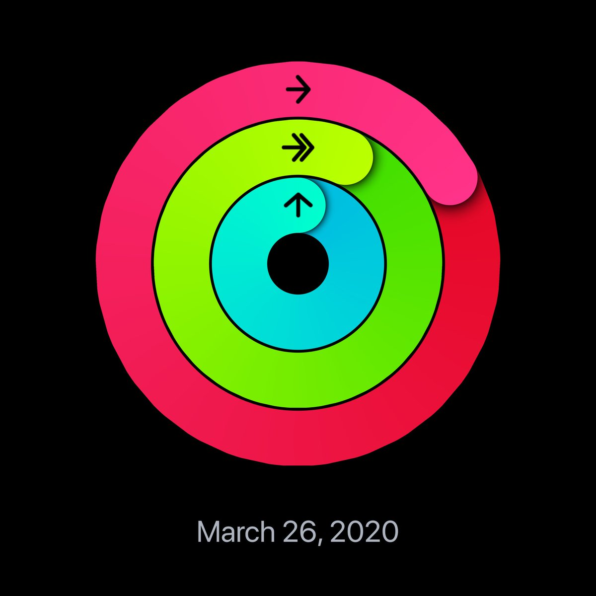 Loving ⁦@Apple⁩ Activity Rings on my #AppleWatch. My goal is to close my rings everyday. What's your plan to stay active?  Let's share and support each other! #WhyCrane #WeAreCrane #ADE2019 #ShowMeYourRings<br>http://pic.twitter.com/6wxwBZw2Rm