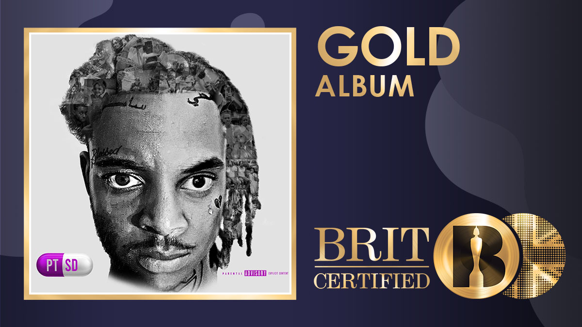 @DBlockEurope's 'PTSD' has gone #BRITcertified Gold this week! <br>http://pic.twitter.com/FwlTAKV8P5