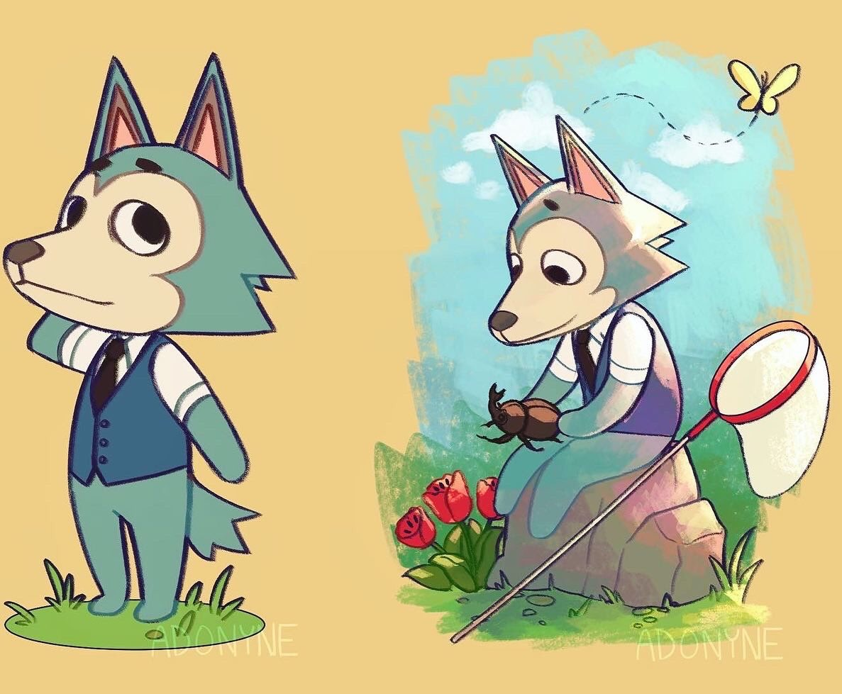 Repost of everyone together! I had a blast drawing these and I'm glad you all enjoyed it   #AnimalCrossingNewHorizions #AnimalCrossing  #Beastars<br>http://pic.twitter.com/FyryF52a4b