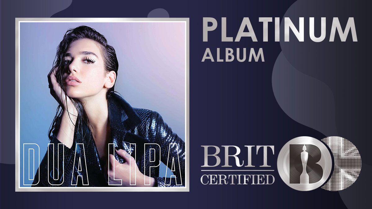 @DUALIPA's self-titled debut album has been #BRITcertified Platinum! <br>http://pic.twitter.com/zng7tRQwjm