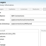 Image for the Tweet beginning: #HCLConnections 6.5 upgrade to CR1