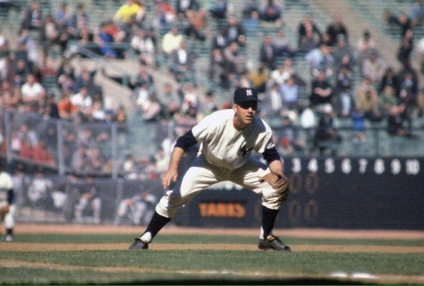 "Tom's Old Days on Twitter: """"Old Days""Clete Boyer One of Baseballs best  defensive 3rd Baseman in the 1960's during a 1963 game at Yankee  Stadium.#MLB #Yankees #NYC #1960s… https://t.co/TZmEdKEOea"""
