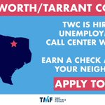 Image for the Tweet beginning: FORT WORTH: @TXWorkforce is hiring