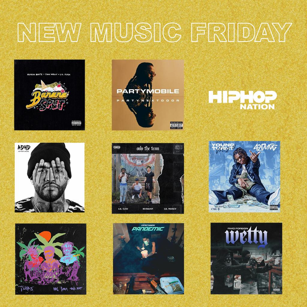 Too many options. Which one are y'all listening to first? 🤔🔥 #newmusicfriday
